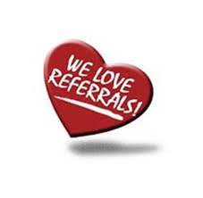 We love Referral